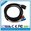 high quality vga to 3rca cable