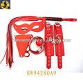 Rot handschellen und Fesseln männlichen sex-spielzeug