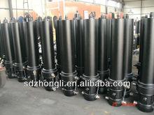 telescopic hydraulic ram cylinder for sale dump truck body parts