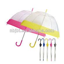 transparent pvc umbrella