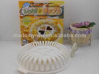 plastic microwave potato chips maker