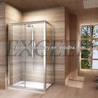 sliding simple shower enclosure