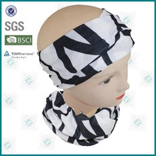 Seamless tube outdoor activities knitted multi-usage scarf