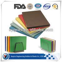 Polyethylene plastic measuring cutting board