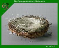 natural rattan bird nests new Easter decoration