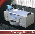 Hs-b261a interior sexo massagem banheira de água quente tv impermeável para adultos