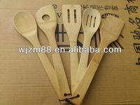 Bamboo utensil set