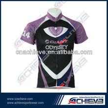 wholesale custom design cycling shirts/wear