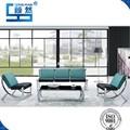 muebles modernos muebles de la sala de cuero moderno sofá de cuero seccional de color verde y negro sofá y una silla