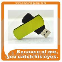 Swivel silver USB Pen Drive UDP Plastic