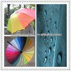 silver coated taffeta fabric used for umbrella