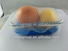 eco-friendly, food grade silicone food wrap set