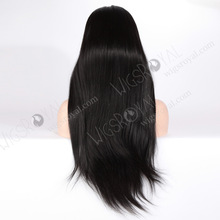 realistic hairline full lace human hair wigs 24 inches accept paypal