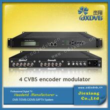 Digital Broadcast Equipment AV To RF Modulator