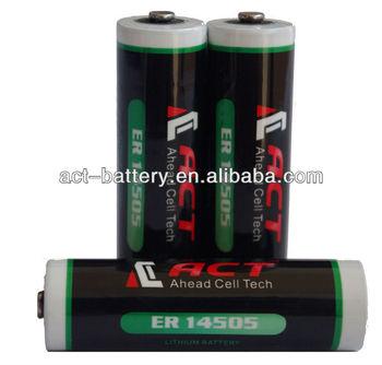 er14505h 3.6v lithium battery aa er14505 High power batteries