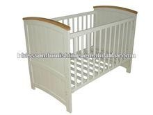 Wooden adult baby crib (1101)