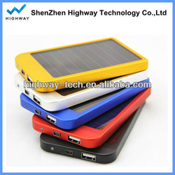 New design high power solar charger, best quality high power solar charger, dual usb high power solar charger