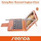 Rechargeable wireless tablet bluetooth keyboard case