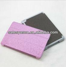 Leather PU belt clip case for ipad mini