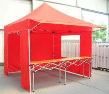 Folding Tent/White striped gazebo/Tent camping