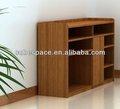 Archivo mobiliario de oficina de madera del gabinete y estantes
