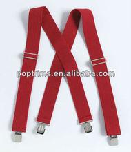 fashion suspenders for men in plain colour