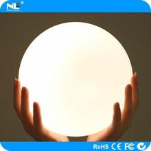 Led furniture/led flat ball light/garden plastic ball lamp