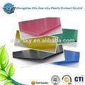 2mm-12mm corflute fiche/feuille de plastique ondulé/feuille de plastique