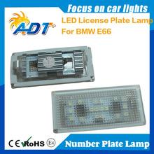 No error E66 LED License plate light/lamp for BMW