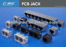 PCB TELEPHONE JACK RJ11 RJ45 6P4C 8P8C