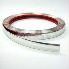 custom made PVC one step forming technical car bumper protector decorative chrome trim strip