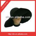 De fieltro de lana sombrero del cuerpo 100% campanas de lana/de fieltro de lana sombrero