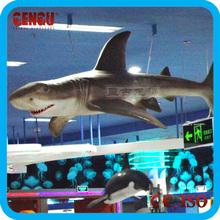 Life size Fiberglass Shark Statues Animal Replicas