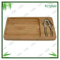 Cheap areca bamboo nut plate