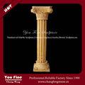 amarillo de mármol decorativo columnas griegas