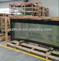 Todo tipo de parabrisas de vidrio para Yutong, Higer, autobús Kinglong