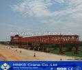 pont à poutres de pont construction grue à montage