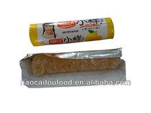 Super sour sweet candy in rolls lemon flavour