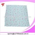 Doble capa de gasa impresa tela del pañal, de dibujos animados impreso tela de pañales para baby