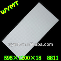 insulated and moisture proof gypsum ceiling tiles