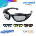 اطلاق النار النظارات الشمسية السوداء polycabonate، التكتيكية نظارات، نظارات الرماية العسكرية