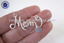 letter mom necklace birthday gift for mom christmas gift for mom NC3324