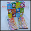 7Inches Wooden Pencil Drawing HB Pencil, Heat Transfer Pencil With Color Box Package