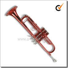 Brass body Color Student Bb Key Trumpet (TP8001C)