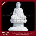 Branco indiano esculpida Buddha granito