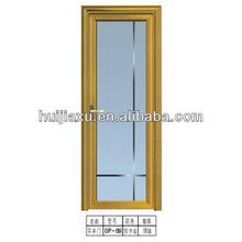 single smart glass door,aluminum art glass single doors