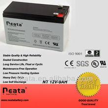 Storage solar battery 12volt 9.0ah