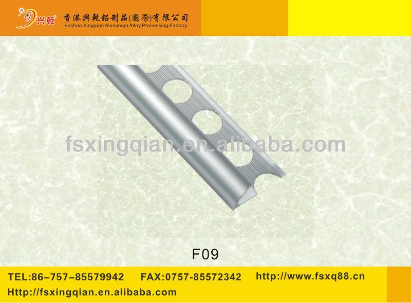 Aluminium Exposed Corner Trim