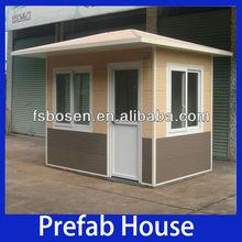 New design prefabricated modular sentry box for guard security cabin