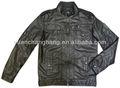2013 moda masculina jaqueta de couro pu